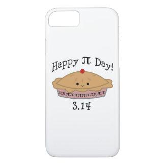 かわいく幸せなPi日! iPhone 8/7ケース