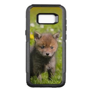 かわいく柔らかいアカギツネのキットのカブスの野生のベビー動物の写真 オッターボックスコミューターSamsung GALAXY S8+ ケース
