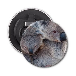 かわいく柔らかい灰色のコアラ 栓抜き