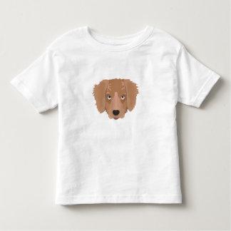 かわいく生意気な子犬 トドラーTシャツ