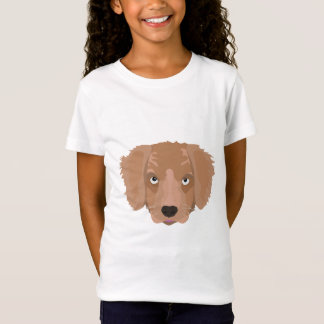 かわいく生意気な子犬 Tシャツ