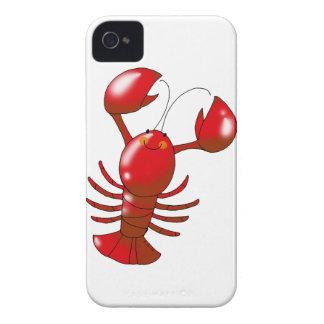 かわいく赤いロブスター Case-Mate iPhone 4 ケース