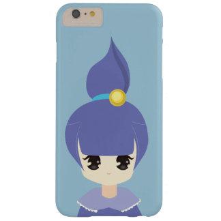 かわいく青いポニーテールの女の子 BARELY THERE iPhone 6 PLUS ケース