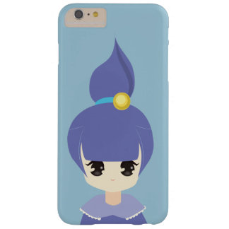 かわいく青いポニーテールの女の子 iPhone 6 PLUS ベアリーゼアケース