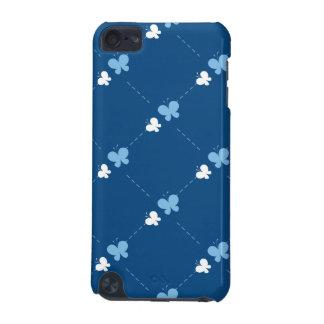 かわいく青い蝶 iPod TOUCH 5G ケース