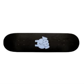 かわいく青い象の漫画 19.7CM スケートボードデッキ