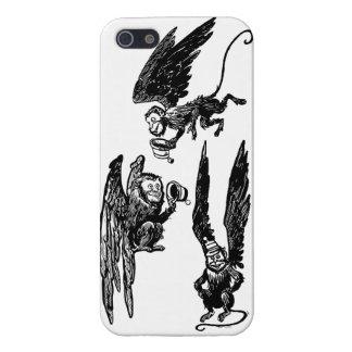 かわいく飛んでいるな猿! オズの魔法使いiphone5の場合 iPhone 5 cover