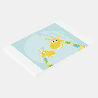 かわいく黄色いキリンとのゲストブック ゲストブック