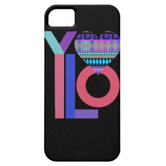 かわいく黒い種族のYOLOのiPhone 5の箱 iPhone SE/5/5s ケース