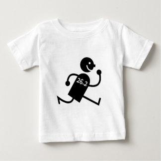 かわいく、おもしろいなマラソン ベビーTシャツ