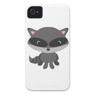 かわいく、愛らしいベビーのアライグマ Case-Mate iPhone 4 ケース