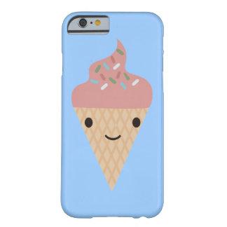 かわいこちゃんのアイスクリームコーン BARELY THERE iPhone 6 ケース