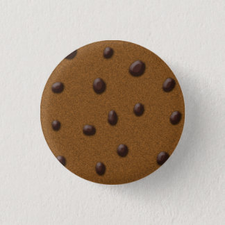 かわいこちゃんのchocの破片のクッキー 3.2cm 丸型バッジ