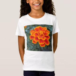 かわいらしいオレンジマリーゴールド Tシャツ