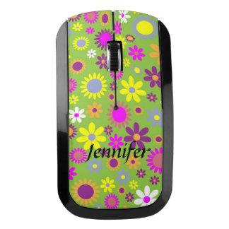 かわいらしいカラフルの花無線コンピュータマウス ワイヤレスマウス