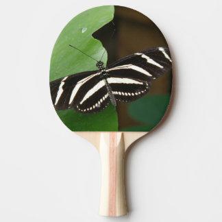 かわいらしいシマウマのLongwingの蝶卓球ラケット 卓球ラケット