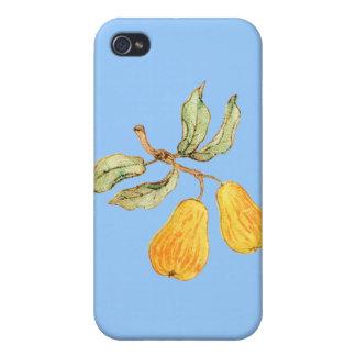 かわいらしいナシの組 iPhone 4/4S ケース