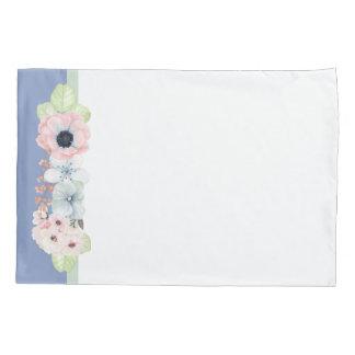 かわいらしいパステル調の花の枕箱 枕カバー