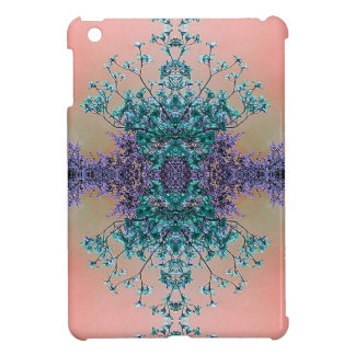 かわいらしいパステル調の芸術的で抽象的なミズキの花 iPad MINI CASE