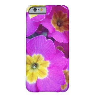 かわいらしいピンクによっては写真撮影のiPhoneの箱が開花します Barely There iPhone 6 ケース