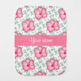 かわいらしいピンクのハイビスカスの花 バープクロス