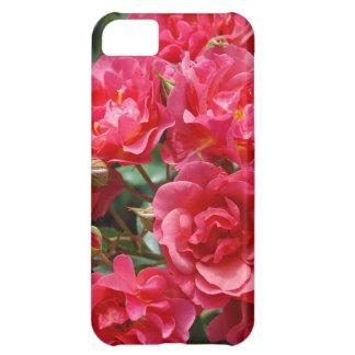 かわいらしいピンクのバラは箱をやっとそこに印刷します iPhone5Cケース