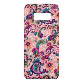 かわいらしいピンクのペイズリーパターン Case-Mate SAMSUNG GALAXY S8ケース