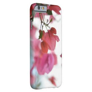 かわいらしいピンクの敏感な花の電話箱 BARELY THERE iPhone 6 ケース
