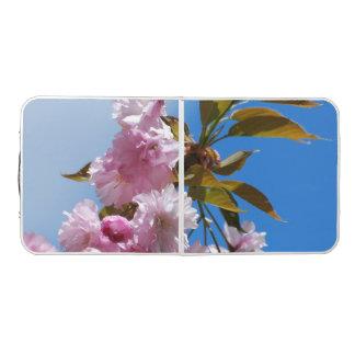 かわいらしいピンクの桜 ビアポンテーブル