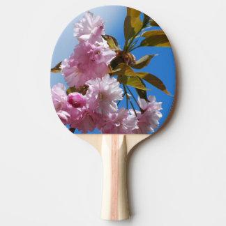 かわいらしいピンクの桜 卓球ラケット
