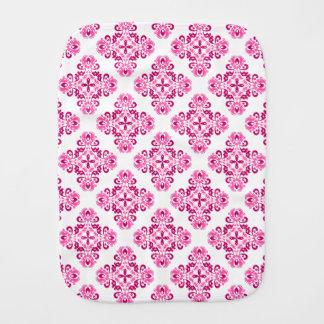 かわいらしいピンクの白 バープクロス