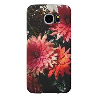 かわいらしいピンクの花のSamsungの銀河系S6の電話箱 Samsung Galaxy S6 ケース