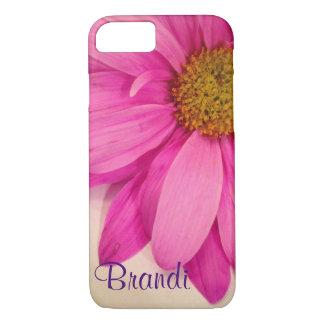 かわいらしいピンクの花びらの電話箱 iPhone 8/7ケース