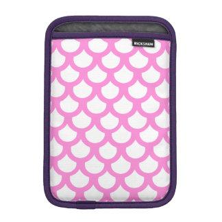 かわいらしいピンクの魚スケール1 iPad MINIスリーブ