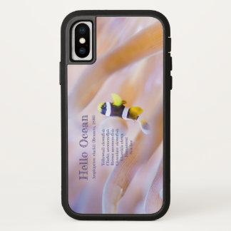 かわいらしいベビーのアネモネ魚 iPhone X ケース