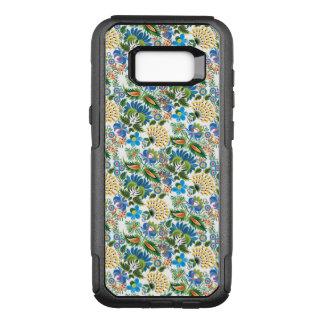 かわいらしいヴィンテージのロシア人のKhokhlomaの花柄パターン オッターボックスコミューターSamsung Galaxy S8+ ケース