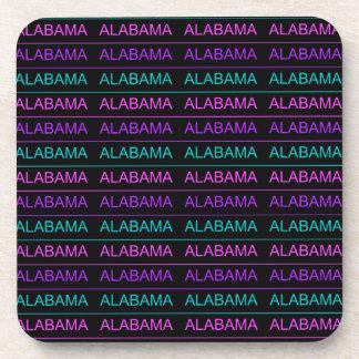 かわいらしい三色のアラバマ コースター