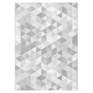 かわいらしい三角形のグランジなパターンII + あなたのアイディア テーブルクロス