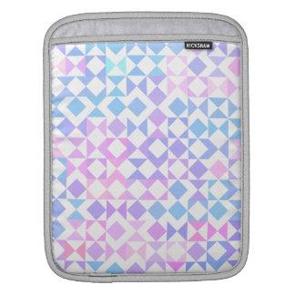 かわいらしい三角形の幾何学的なiPadの袖 iPadスリーブ