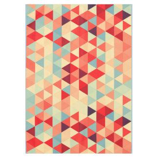 かわいらしい三角形パターンII + あなたのアイディア テーブルクロス