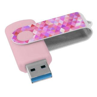 かわいらしい三角形幾何学的なUSBの旋回装置ドライブ USBフラッシュドライブ