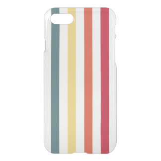 かわいらしい上品のストライプなパターン iPhone 7ケース