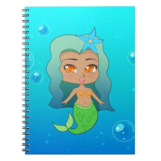 かわいらしい人魚(ココヤシ) ノートブック