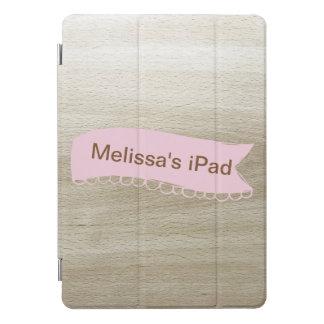 かわいらしい名前入り iPad PROカバー