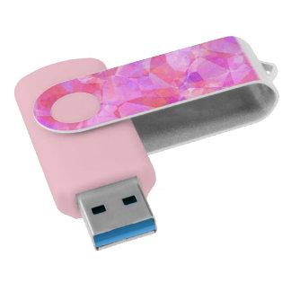 かわいらしい多角形幾何学的なUSBの旋回装置ドライブ USBフラッシュドライブ