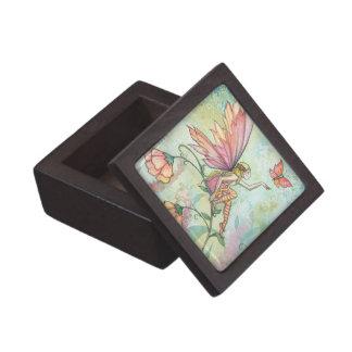 かわいらしい妖精および蝶優れたギフト用の箱 ギフトボックス