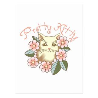 かわいらしい子猫 ポストカード
