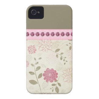 かわいらしい宝石で飾られたiPhoneのケース Case-Mate iPhone 4 ケース