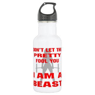 かわいらしい愚か者を私によってが獣である許可しないで下さい ウォーターボトル