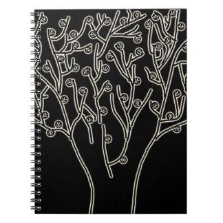 かわいらしい木のノート ノートブック